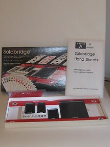 Vintage Solobridge Game 1976 Series A Includes 50 Prepared Hands