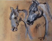 'Race Me' Quality prints of pastel painting by Susie Lind