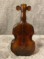 Vintage Brown Glass Bass Or Cello Bottle Instrument 7