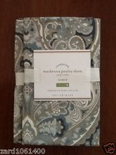Pottery Barn MACKENNA PAISLEY, Sham, Size King, set of Two New W/$39.50 Each