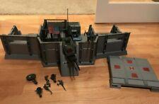 "1983 HASBRO G.I. JOE 3 3/4"" HEADQUARTERS COMMAND CENTER COMPLETE"