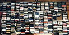 10 Random CASSETTE TAPES Lot for $14.99: Rock, Pop, Metal, 80s, 90s, Alternative