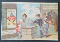 Chromo image publicitaire EAU DE MELISSE DES CARMES Marseille