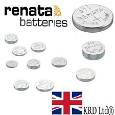 Genuine Renata All Sizes Watch Batteries Swiss Made Sliver Oxide Batteries UK