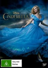 CINDERELLA-Disney Movie-Lily James-Region 4-New AND Sealed