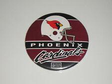 """Vintage Arizona Cardinals Pin Button NFL Football Pinback Pin Back 3.5"""""""