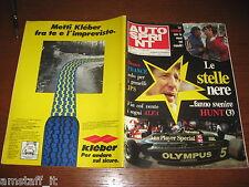AUTOSPRINT 1978/27=GP F1 FRANCIA=MARIO ANDRETTI LOTUS=PUBBLICITA' KLEBER=