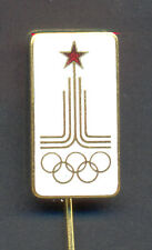 OLYMPIC MOSCOW 1980 - YUGOSLAVIAN OLYMPIC DELEGATION - rare pin badge