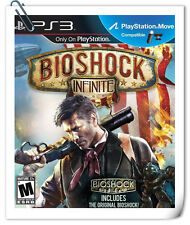 PS3 Move BIOSHOCK INFINITE Sony PlayStation Action 2K Games