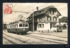 Schweiz BAHNHOF LAUPEN Sensetalbahn * Foto-Ak 1943