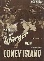 """IFB Illustrierte Film Bühne Nr. 4251 """" Der Würger von CONEY ISLAND """""""
