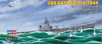 Hobby Boss 3487013 U-Boot USS Gato SS-212 (1944) 1:700 Modellbau Modell Bausatz