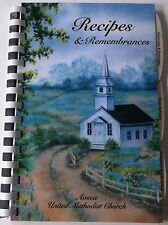 Avoca MI United Methodist Church Fundraiser Community Cookbook 2008 Like New