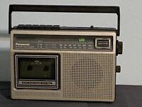 Panasonic Radio Cassette Recorder RX-1230  Radio Works /Tape Deck Doesn't PARTS