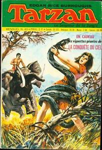 TARZAN LE SIGNEUR DE LA JUNGLE #49 1972 BURROUGHS FRENCH-HOGARTH ART FINE
