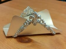 Silver Plated Letter Rack Holder