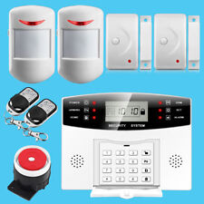 Wireless&Wired LCD GSM SIM Home House Office Burglar Security Alarm Auto dialer