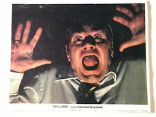 Original Lobby Card 11x14: Willard (1971) Ernest Borgnine