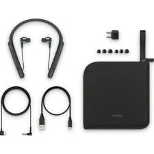 Sony WI-1000X/B All Accessories Included Noise Cancelling WI1000X (Black)