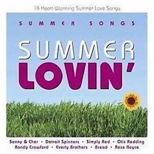 SUMMER SONGS Summer Lovin' Various Feat. Sonny & Cher, Simply Red CD NEW