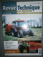 Case IH tracteur JX JX70U JX80U JX90U - JX100U : revue technique RTMA 159