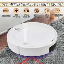 UV Disinfect Sterilization Sprayer Automatic Sweeping Smart Robot Vacuum Cleaner