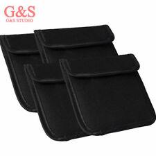 4 x Filter Wallet Case Bag 1 Pocket Filter Bag For 37mm - 82mm UV CPL