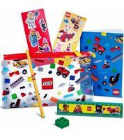 LEGO Back To School Pencil Case & Stationary Set Brand New Promotional Set