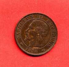 (BR.87) 5 CENTIMES NAPOLÉON III 1854 A PARIS (SUP+)