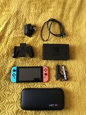 Nintendo Switch V2 Console Improved Battery Model
