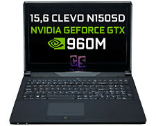 15,6 CLEVO N150SD i7-4720HQ RAM 4GB GTX 960M HDD 500GB Blu-Ray Win 10 Pro ✔