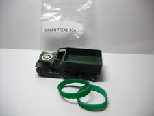NEW TREADS! Matchbox #49A M3Personnel Carrier GREEN REPLACEMENT TREADS A PAIR