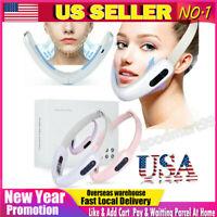 Electric V-Face Slimming Machine Vibration Face Massage Skin Lifting Device US