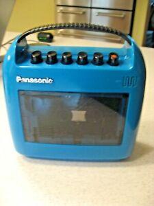 Vintage Blue Panasonic Cassette Player Model No. RQ-304S WORKS!