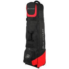Orlimar Traveler 6.0 Wheeled Golf Travel Cover, Black/Red