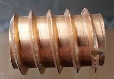 20x Holzdübel M10 M 10 Gewindemuffe Dübel Gewindeanker Gewindehülse Mutter Holz