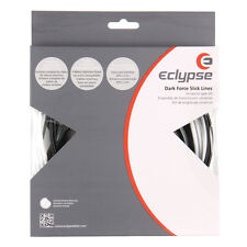 Eclypse Dark Force Stainless Steel Shift and Brake Cable & Housing Kit (White)