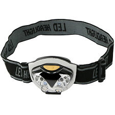 6 LED Adjustable Headband Light Safety Torch  - By TRIXES