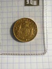 20 francs belge leopold en or 1877
