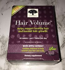 NEW NORDIC Hair Volume With Apple Extract, 90 TABLETS - NEW IN BOX Exp. 04/19