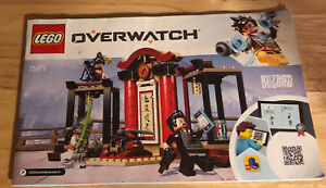 Lego 75971 Overwatch INSTRUCTION MANUAL ONLY