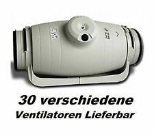 TD-250/100 SILENT Rohrventilator Kanalventilator Abluftventilator Ventilator