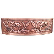 D-Shape Petal Design Copper Undermount Kitchen Sink – Single Bowl 16-Gauge
