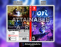 ORI AND THE WILL OF THE WISPS - Custom Game Case (Switch, 2020) - NO GAME INCL