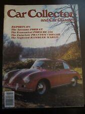 Car Collector Magazine May 1979 Ford GT Porsche 356 Phantom Corsair Z8 Y3