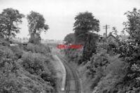 PHOTO  BROOMIEKNOWE RAILWAY STATION MID-LOTHIAN REMAINS 1962 NBR EDINBURGH - ESK