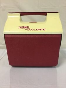 Vintage Thermos Lil CoolDate Cooler Ice Chest, Camping, Work, Picnics