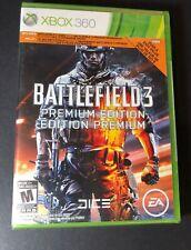 Battlefield 3 [ Premium Edition ] (XBOX 360) NEW