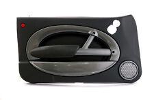 *BMW Mini R50 R52 R53 1 Front Left N/S Door Card Side Trim Panther Black
