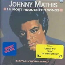 16 Most Requested Songs by Johnny Mathis (CD, Jul-1987, Columbia/Legacy)